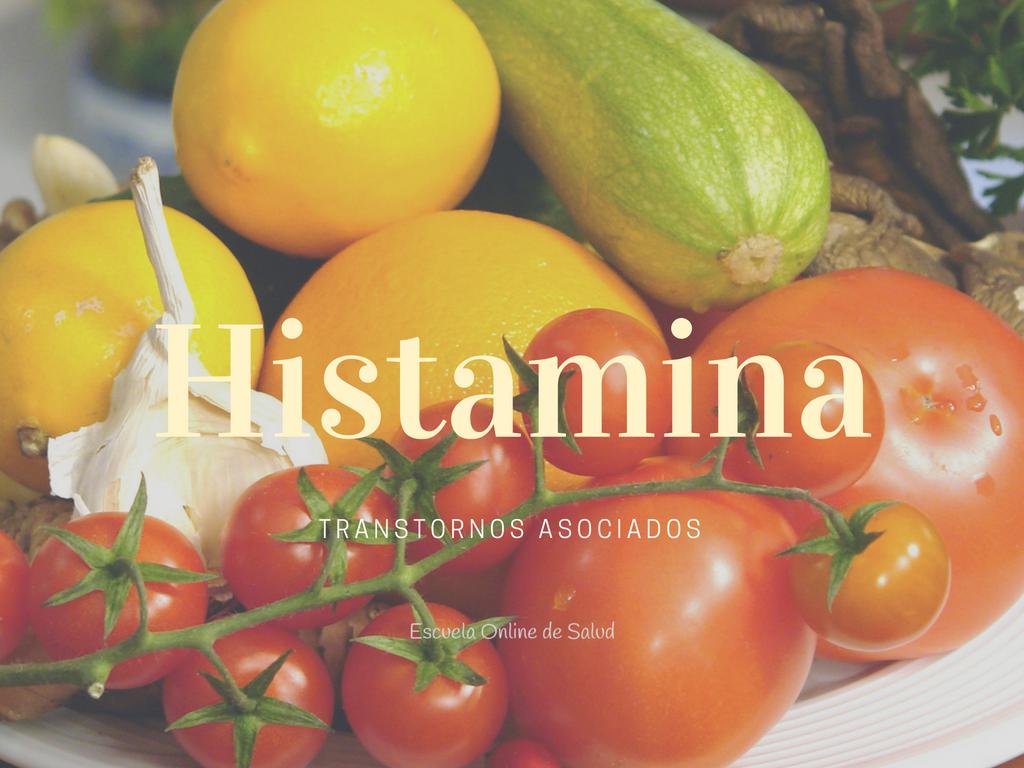 Dieta para histamina alta